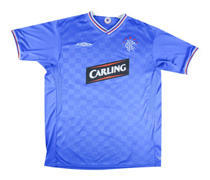 Rangers 2009-10 Home Shirt (Excellent) XL