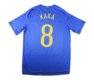 Brazil 2008-10 Away Shirt Kaka #8 (Excellent) L