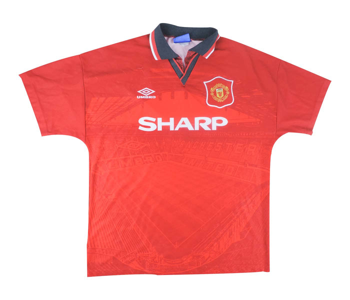 Manchester United 1994-96 Home Shirt (Good) L