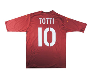 Roma 2004-05 Home Shirt Totti #10 (Excellent) XL