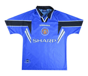 Manchester United 1996-97 Third Shirt Beckham #10 (Excellent) M