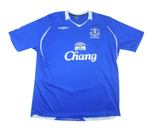 Everton 2008-09 Home Shirt (Excellent) XXL