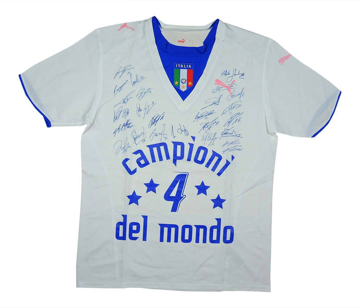 Italy 2006-07 Away Shirt 'Campion Del Mundo' (Very Good) M