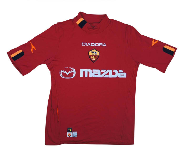 Roma 2003-04 Home Shirt (Fair) S