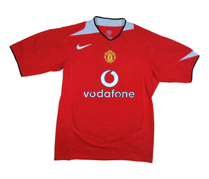 Manchester United 2004-06 Home Shirt (Excellent) M