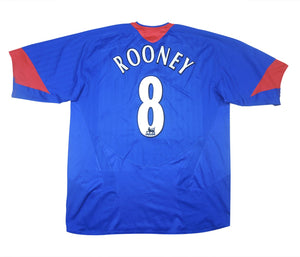 Manchester United 2005-06 Away Rooney #8 (Excellent) XL