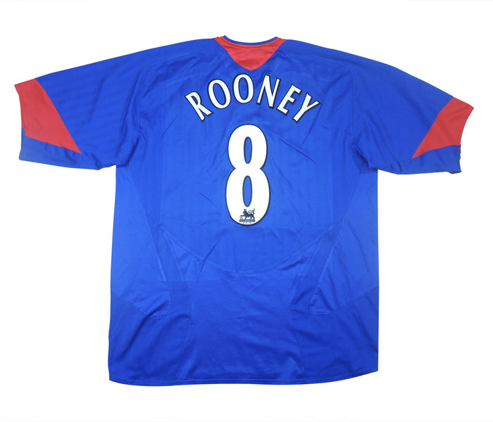 Manchester United 2005-06 Away Shirt Rooney #8 (Excellent) XL