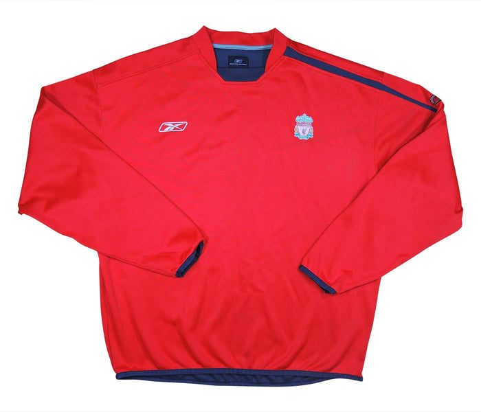 Liverpool 2004-06 Training Drill Top L/S (Excellent) XL