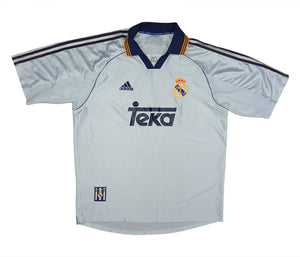 Real Madrid 1998-00 Home Shirt (Excellent) L