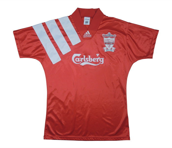 Liverpool 1992-93 Home Shirt Centenary Shirt (Very Good) S