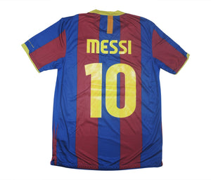 Barcelona 2010-11 Home Shirt Messi #10 (Excellent) M