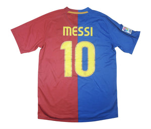 Barcelona 2008-09 Home Shirt Messi #10 (Excellent) M