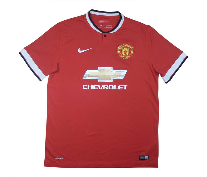 Manchester United 2014-15 Home Shirt (Excellent) L