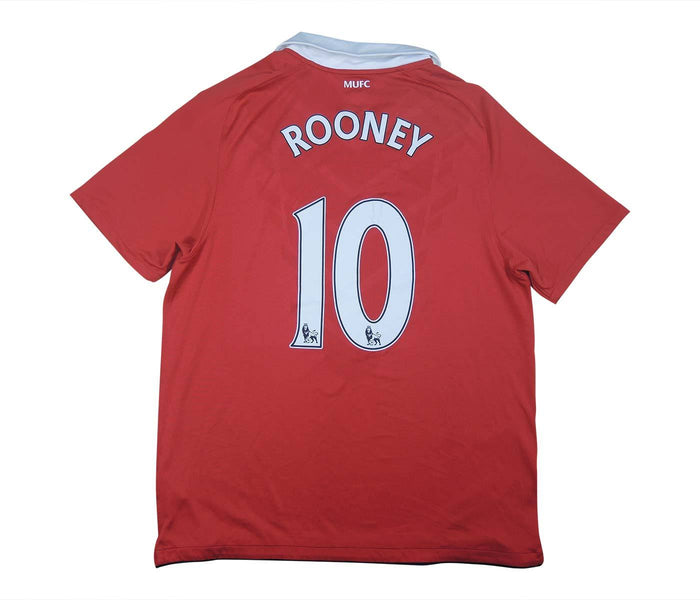 Manchester United 2010-11 Home Shirt Rooney #10 (Excellent) L