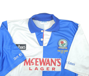 Blackburn Rovers 1994-95 Home Shirt 'Premier League Champions' (Excellent) XL