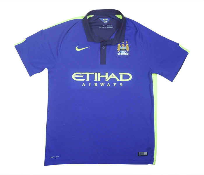 Manchester City 2014-15 Away Shirt (Very Good) L