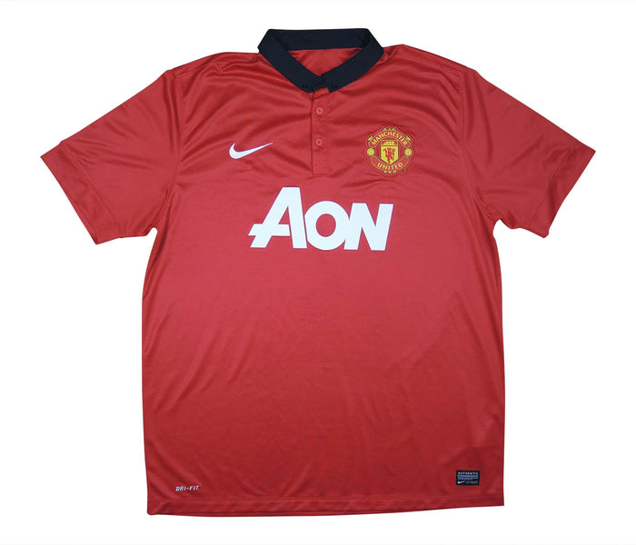 Manchester United 2013-14 Home Shirt (Excellent) XL