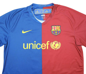 Barcelona 2008-09 Home Shirt Henry #14 (Very Good) L