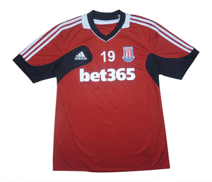 Stoke City 2011-12 Player Issue Training Top (Walters) #19 (Excellent) L