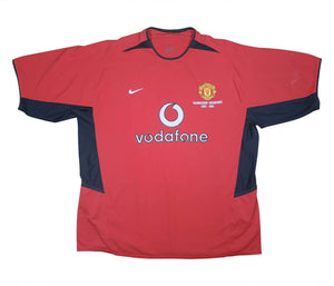 Manchester United 2003-04 Home Shirt (Excellent) XXL