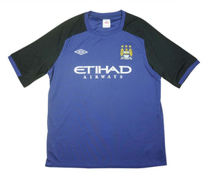 Manchester City 2012-13 Player Issue Training Top (Excellent) XXL