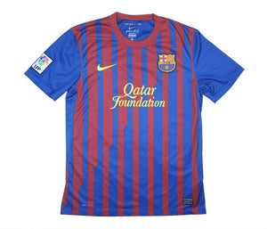 Barcelona 2011-12 Home Shirt Fabregas #4 (Excellent) M