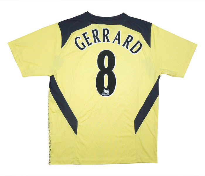 Liverpool 2004-05 Away Shirt Gerrard #8 (Excellent) M