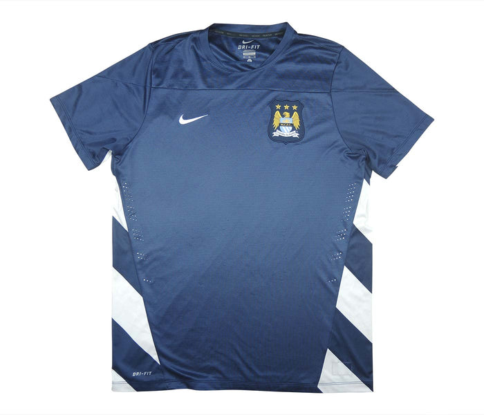 Manchester City 2013-14 Player Issue Training Top (Very Good) M