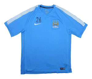 Manchester City 2014-15 Training Shirt (Excellent) M