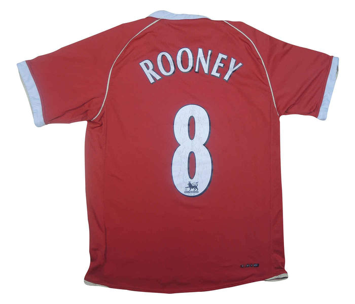 Manchester United 2006-07 Home Shirt Rooney #8 (Very Good) S