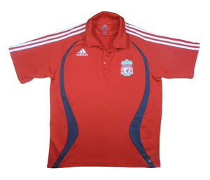 Liverpool 2007-08 Polo Shirt (Excellent) L
