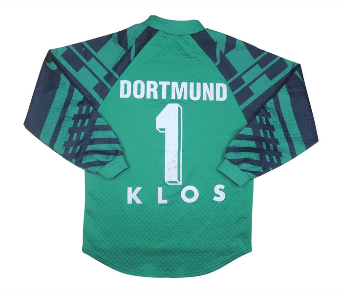 Borussia Dortmund 1996-97 Gk Shirt Klos #1 (Very Good) S
