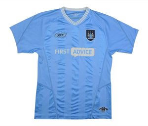 Manchester City 2003-04 Home Shirt (Good) S