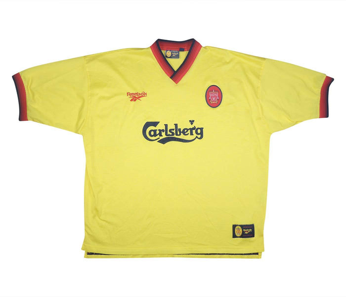 Liverpool 1997-99 Away Shirt (Excellent) XXL