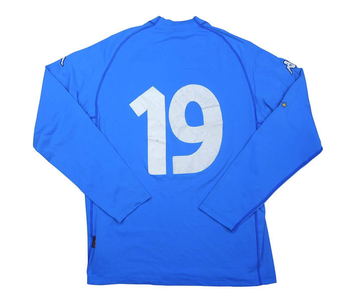 Italy 2000-01 Player Issue Home Shirt L/S  #19 (Very Good) XL
