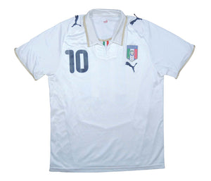 Italy 2008-09 Away Shirt Rossi #10 (Good) M