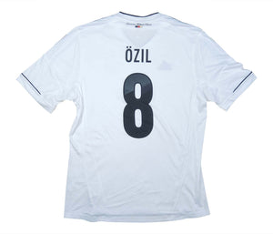Germany 2012-13 Home Shirt Ozil #8 (Excellent) L
