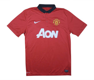 Manchester United 2013-14 Home Shirt (Excellent) L