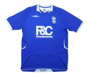 Birmingham City 2008-09 Home Shirt (Excellent) M