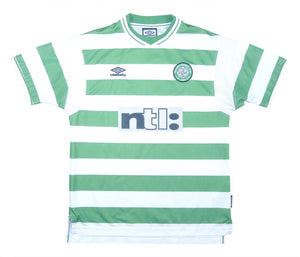 Celtic 1999-01 Home Shirt (Excellent) L