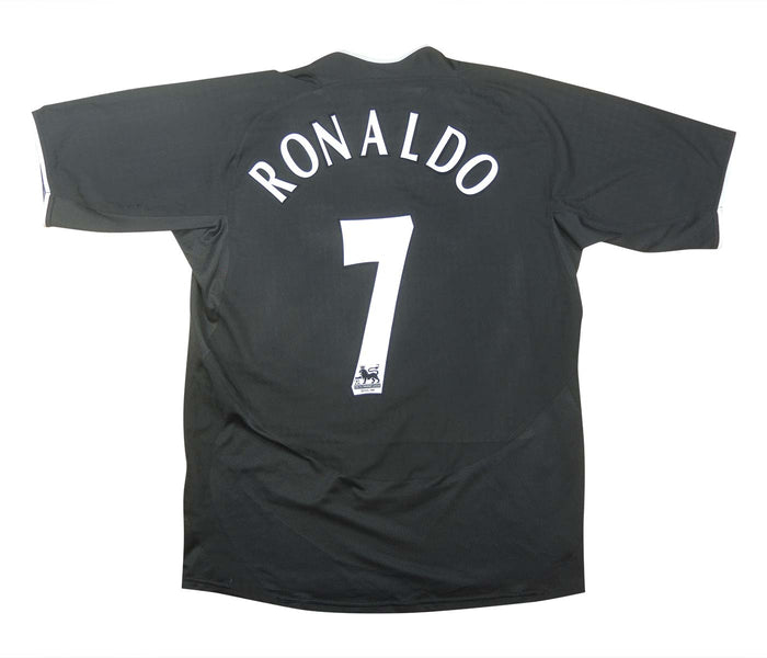 Manchester United 2003-05 Away Shirt Ronaldo #7 (Excellent) L