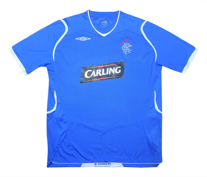 Rangers 2008-09 Home Shirt (Excellent) XL