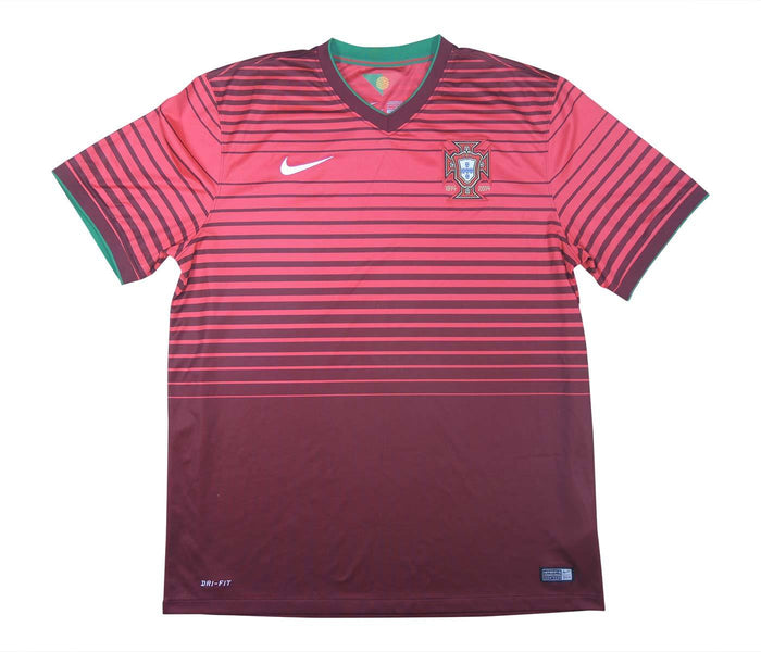 Portugal 2014-15 Home Shirt (Excellent) XL