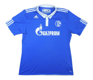 Schalke 2010-12 Home Shirt (Excellent) XL