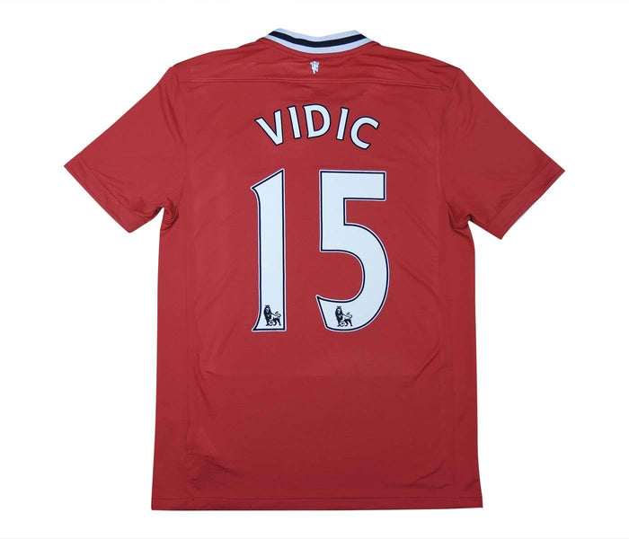 Manchester United 2011-12 Home Shirt Vidic #15 (Excellent) M