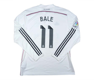 Real Madrid 2014-15 Home Shirt Bale #11 (Excellent) XL