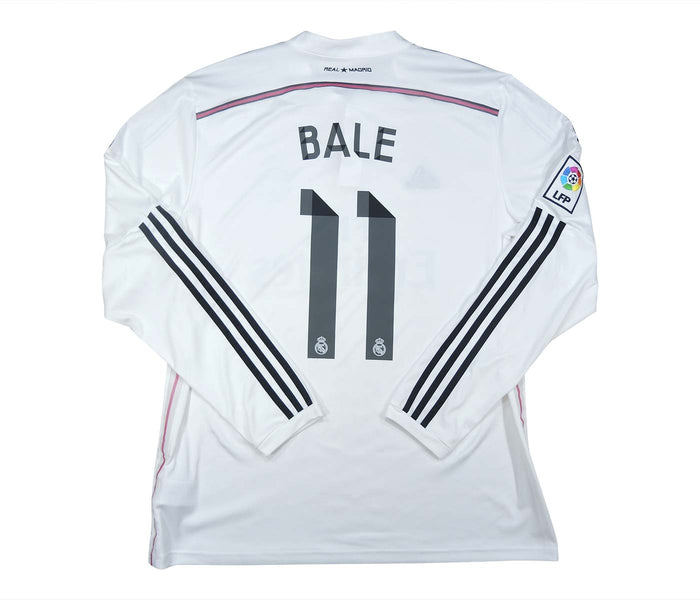 Real Madrid 2014-15 Home Shirt Bale #11 (Excellent) XL L/S