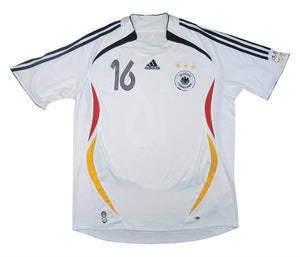 Germany 2005-07 Home Shirt Lahm #16 (Excellent) XL