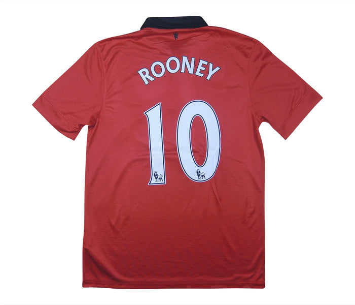 Manchester United 2013-14 Home Shirt Rooney #10 (Excellent) XL