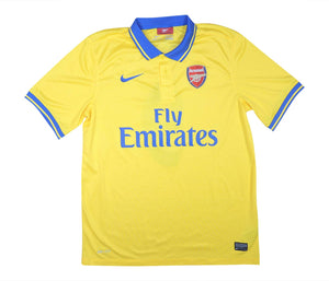 Arsenal 2013-14 Away Shirt Podolski #9 (Excellent) L